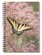 Garden Visitor - Tiger Swallowtail Spiral Notebook