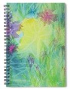 Garden Vortex Spiral Notebook