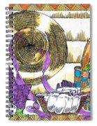 Gardener's Basket Spiral Notebook