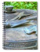 Gardener's Memorial Spiral Notebook