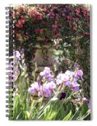 Gardens At Caesars Spiral Notebook