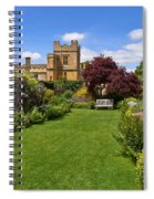 Gardens Of Sudeley Castle In The Cotswolds Spiral Notebook