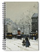 Gare Du Nord Paris Spiral Notebook