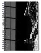 Gargoyle And Glass Spiral Notebook