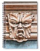 Gargoyle Head Helsingborg Spiral Notebook