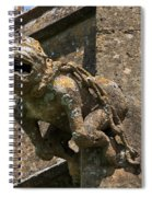 Gargoyle On The Church Of St Mary At Sudeley Castle Spiral Notebook