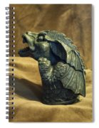 Gargoyle Or Grotesque Profile Spiral Notebook