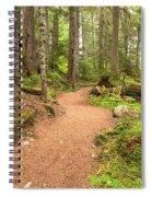 Garibaldi Path To Cheakamus Lake Spiral Notebook
