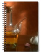 Garlic And Olive Oil. Spiral Notebook