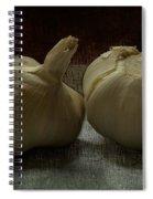 Garlic Spiral Notebook