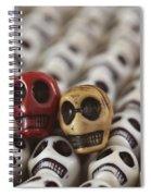 Garnet And Gold Spiral Notebook