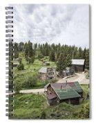 Garnet Ghost Town - Montana Spiral Notebook