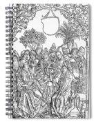 Gart Der Gesuntheit, 1485 Spiral Notebook