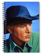 Garth Brooks Spiral Notebook