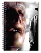 Gary Oldman And Anthony Hopkins In The Film Hanibbal By Ridley Scott Spiral Notebook