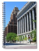 Gas Building And Nml Tall Spiral Notebook