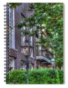 Gas Light Glow Spiral Notebook