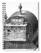 Gas Meter Spiral Notebook