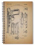 Gas Operated Semi-automatic Pistol Spiral Notebook
