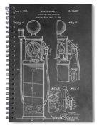 Gas Pump Patent Spiral Notebook