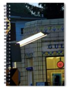 Gas Station 2 Spiral Notebook