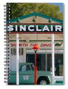 Gas Station And Truck Spiral Notebook