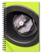 Gas Tank Cap Spiral Notebook