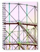 Gas Tank  Spiral Notebook