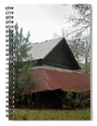 Gaskins Family Barn Series II Spiral Notebook