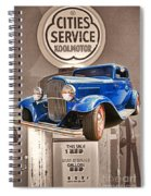 Gasoline Alley Spiral Notebook