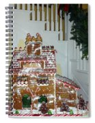 Gasparilla Gingerbread Spiral Notebook