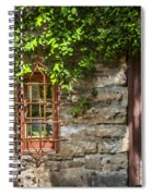 Gate And Window Spiral Notebook