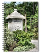Gate Entrance Spiral Notebook