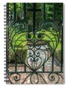 Gate Keeper Spiral Notebook