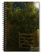 Gate To Nowhere Spiral Notebook