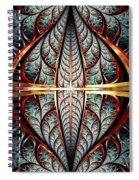 Gates Of Night Spiral Notebook