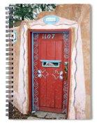 Gates Of Santa Fe 3 Spiral Notebook