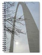 Gateway Arch In Spring Spiral Notebook