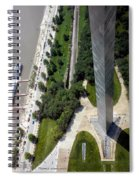Gateway Arch St Louis 11 Spiral Notebook