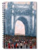 Gateway Of India Mumbai 2 Spiral Notebook