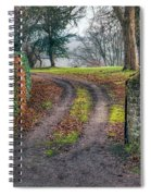 Gateway To Autumn Spiral Notebook