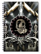 Gateway To Babalon Spiral Notebook