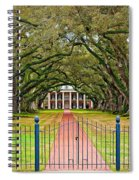 Gateway To The Old South Spiral Notebook