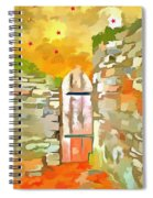 Gateway To The Stars Spiral Notebook