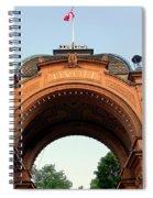 Gateway To Tivoli Gardens Spiral Notebook