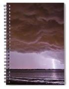 Gathering Clouds Spiral Notebook
