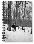 Gathering Sap, C1900 Spiral Notebook