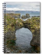 Gatklettur Arch In Hellnar Spiral Notebook