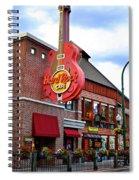 Gatlinburg Hard Rock Cafe Spiral Notebook