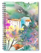 Gatova Spain 01 Spiral Notebook